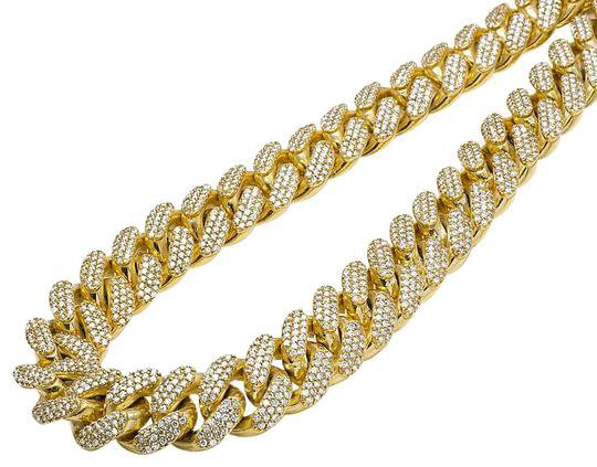 jewelry-unlimited-10k-yellow-gold-prong-miami-cuban-chocker-big-diamond-chain-necklace-0-1-540-540.jpg (540×423)