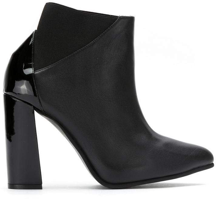 Studio Chofakian leather ankle boots