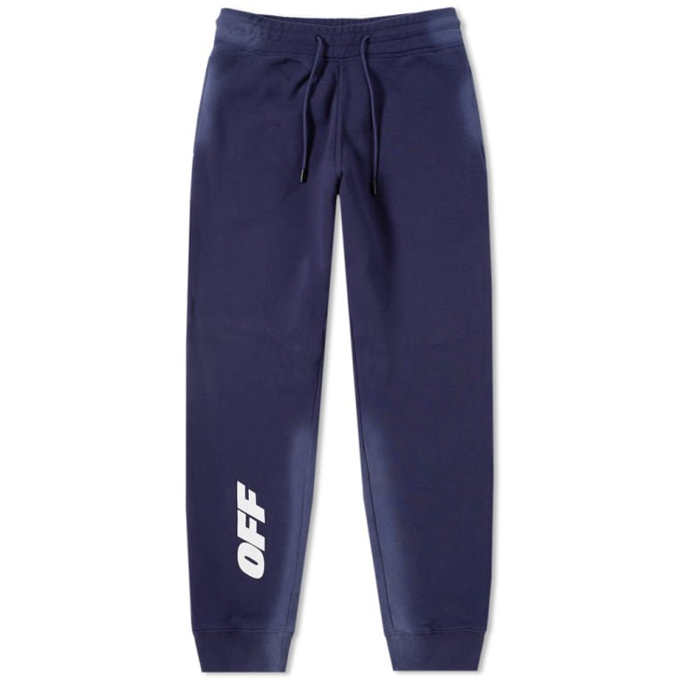 Off-White Wing Off Sweat Pant (Blue & White) | END.