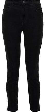 Alana Cropped Cotton-blend Corduroy Skinny Pants