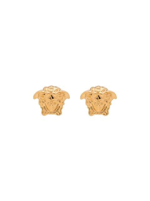 Versace Medusa head stud earrings $169 - Buy AW19 Online - Fast Global Delivery, Price