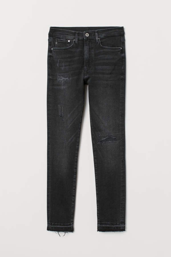 Shaping Skinny High Jeans - Black