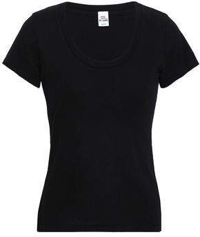 Re/Done By Re/done By Slub Cotton-jersey T-shirt