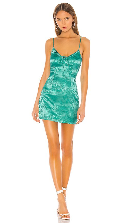 superdown Andy Mini Dress in Teal | REVOLVE