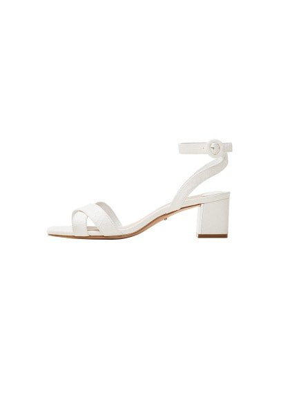 Violeta BY MANGO Strappy heeled sandals