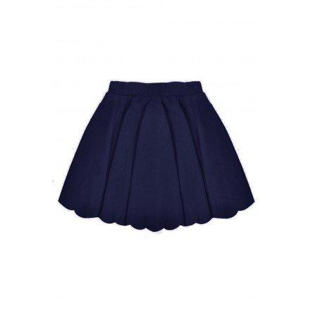 Navy Blue Mini-Skirt
