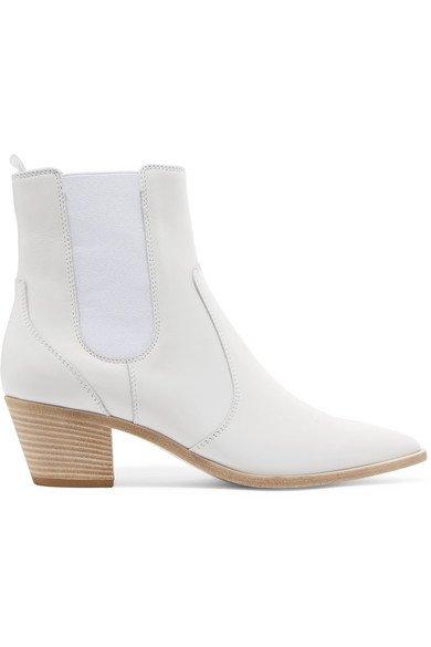 Gianvito Rossi | Austin 45 leather Chelsea boots | NET-A-PORTER.COM