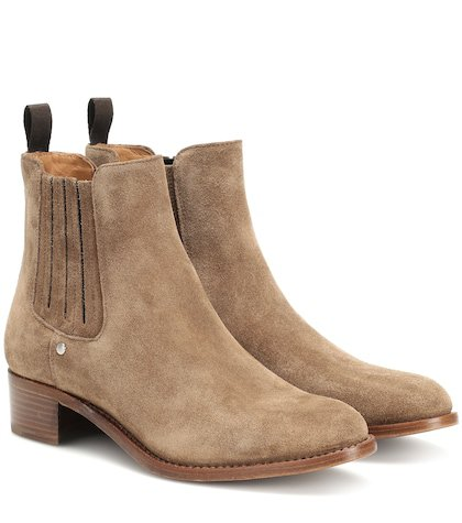Bonnie suede ankle boots
