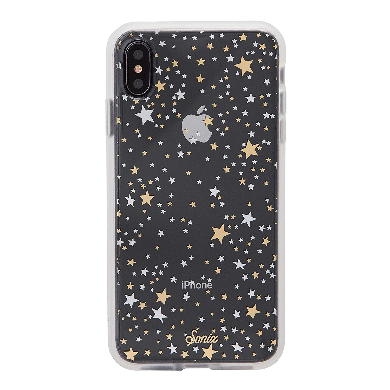 iPhone XS max case, stars. Sonix