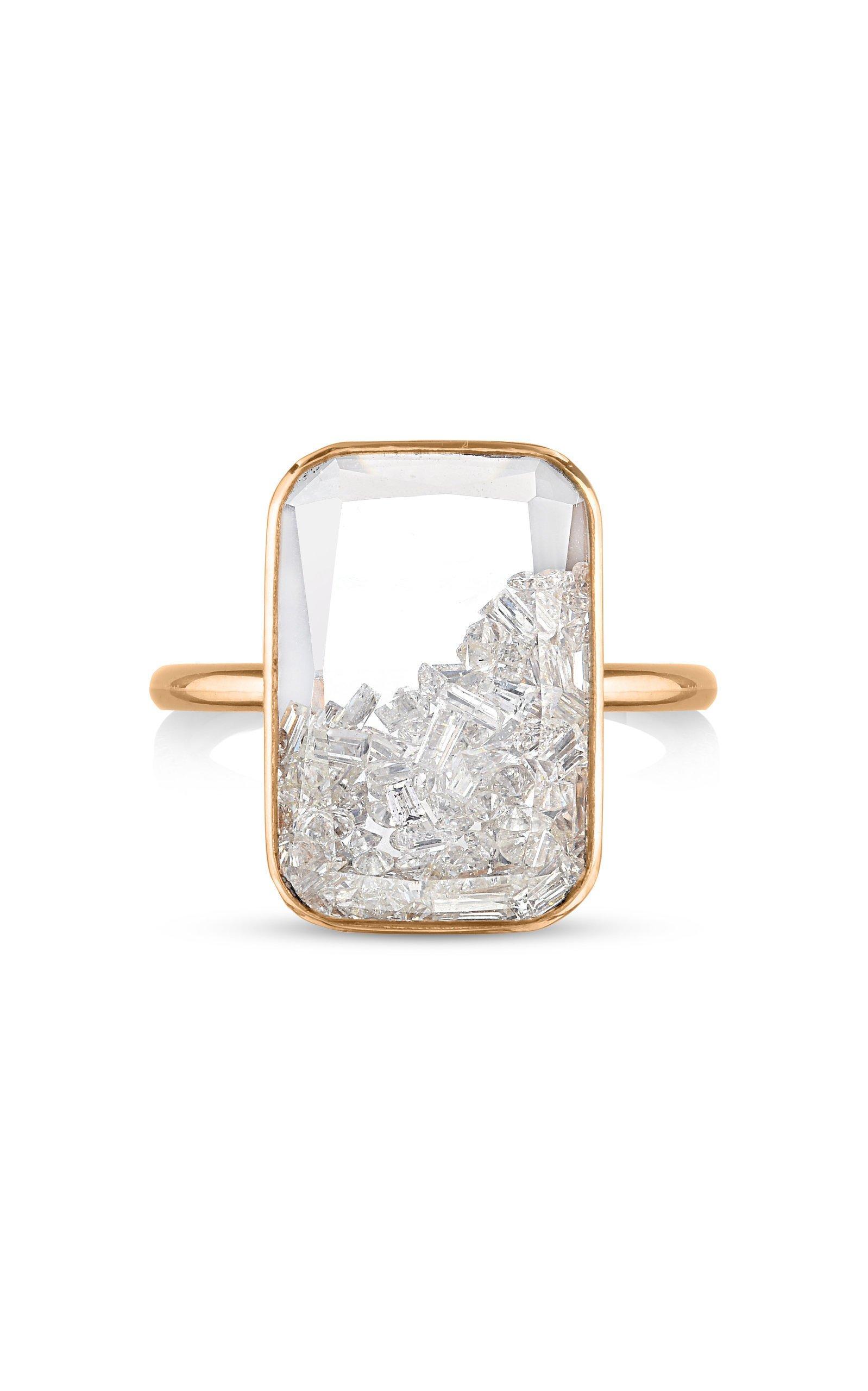 Moritz Glik Diamond Kaleidoscope Shaker Ring