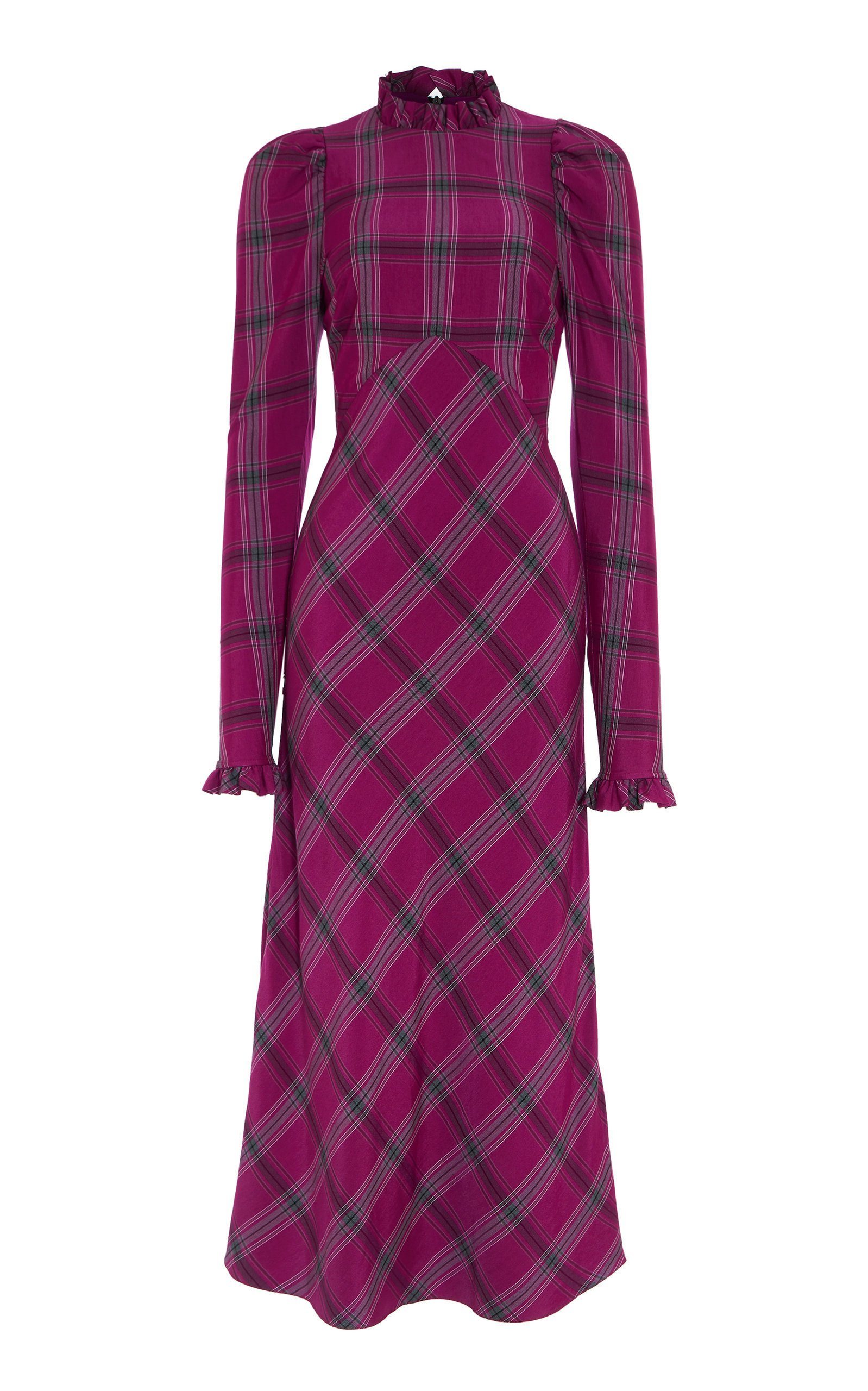 Temperley London Isobel Check Dress