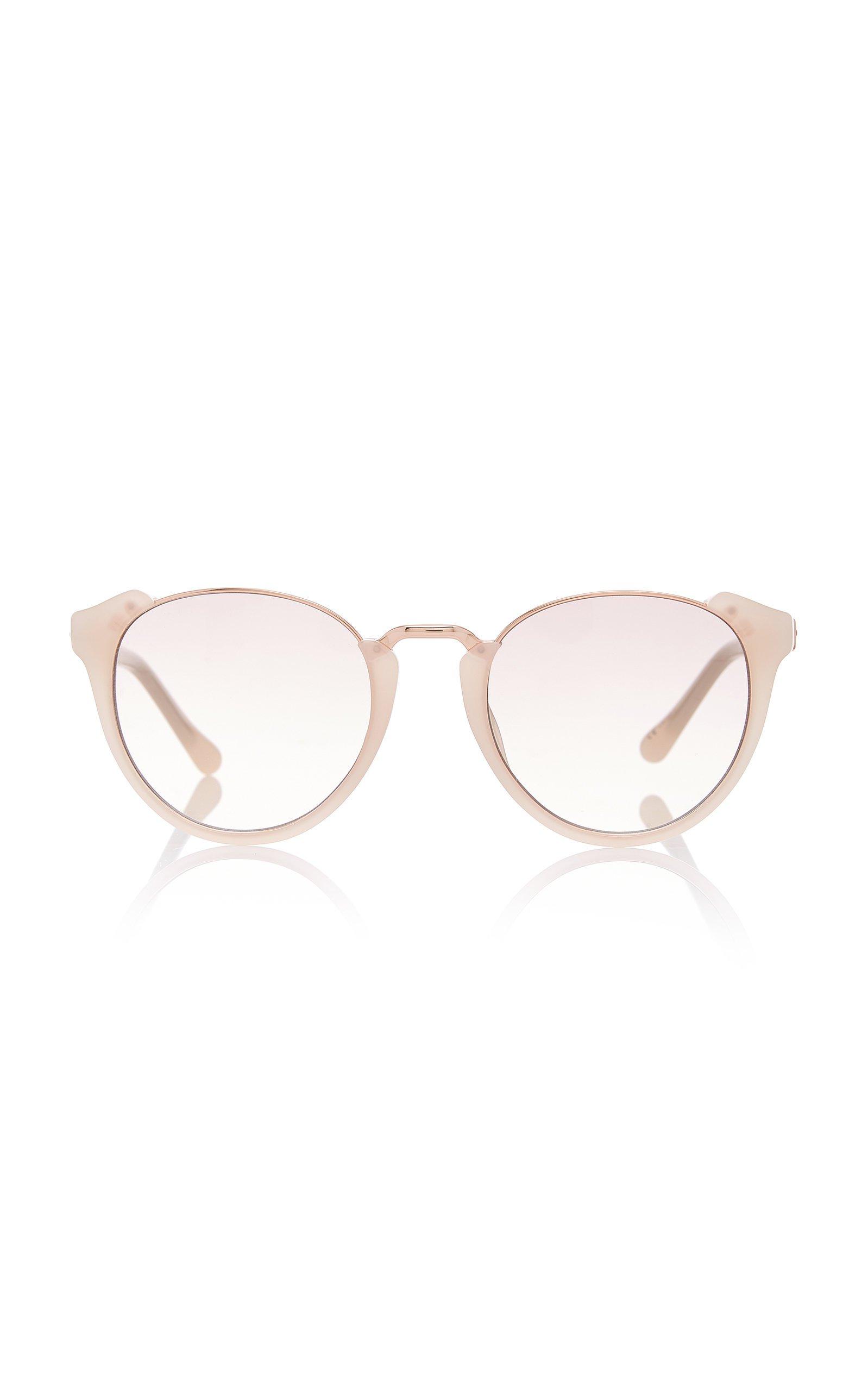 Linda Farrow Titanium Acetate Sunglasses