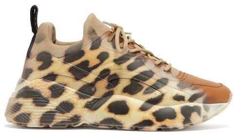 Eclypse Leopard Print Low Top Trainers - Womens - Leopard