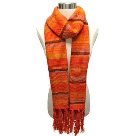 black and orange scarf - Google Search