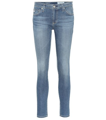 The Legging mid-rise skinny jeans