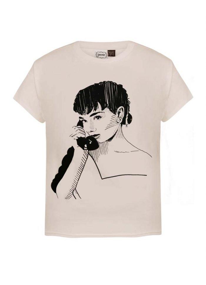 Sketch Icon Tee | Vintage-Inspired Audrey Hepburn T-Shirt | Joanie