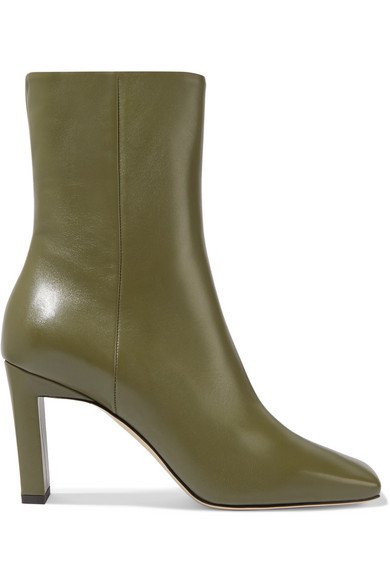 Wandler | Isa leather ankle boots | NET-A-PORTER.COM