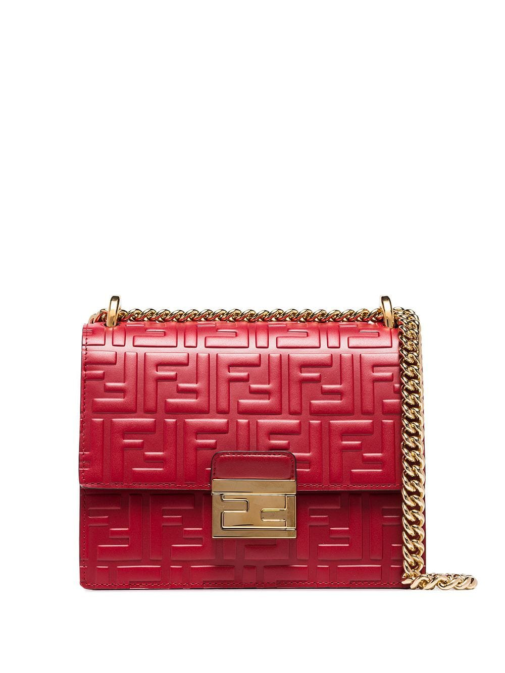 Fendi Small Kan U Shoulder Bag - Farfetch
