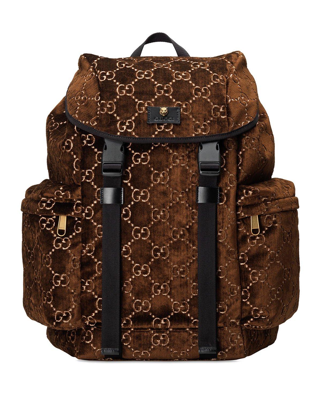 Gucci GG Velvet Backpack