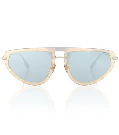 DiorUltime2 metal sunglasses