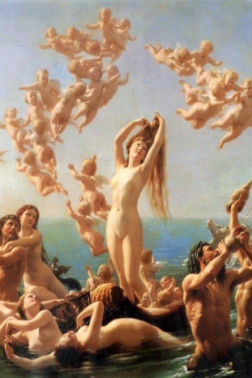 The Antique Geek - c0ssette: Birth of Venus (1887) by Fritz... | via Tumblr