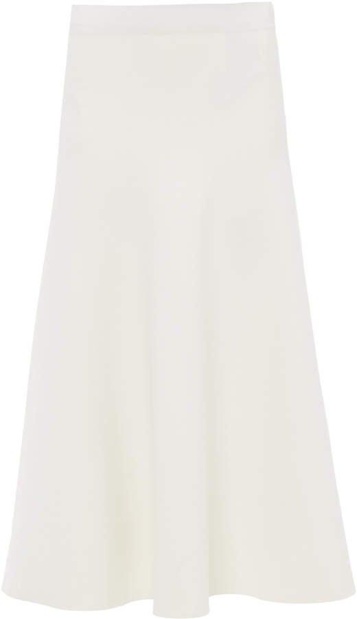 Jil Sander Crepe Midi Skirt Size: 34