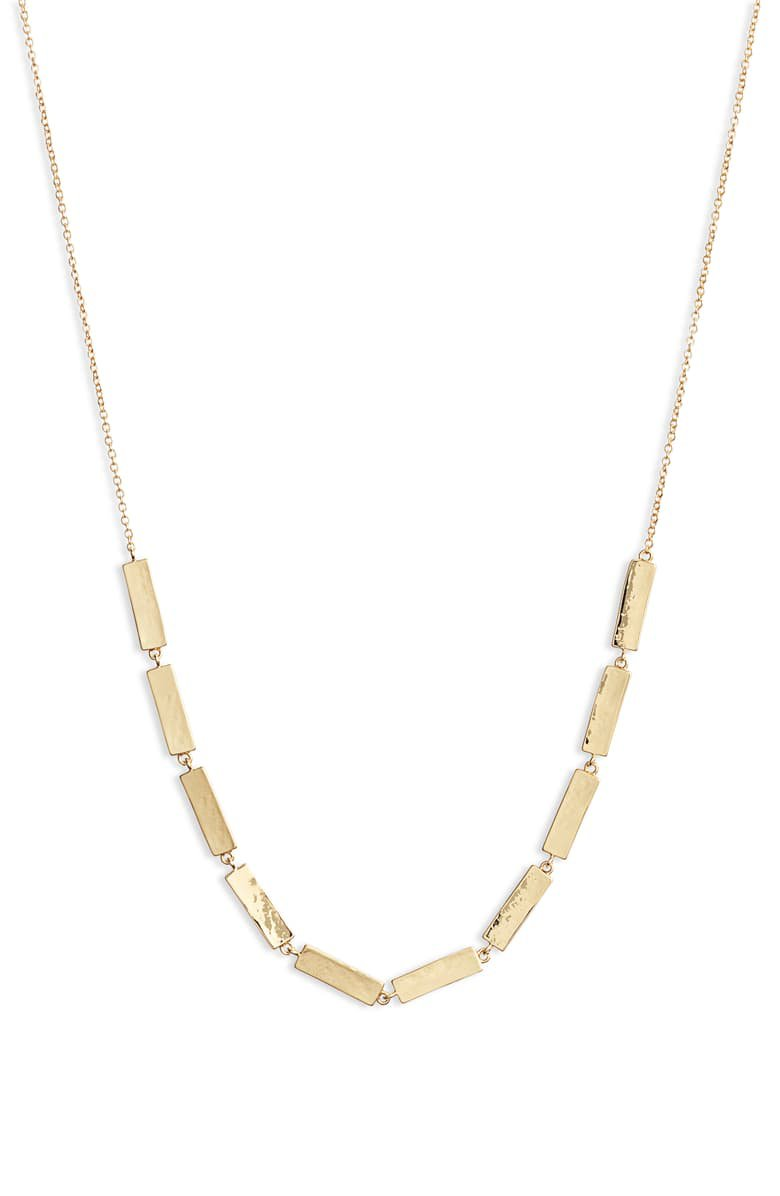 gorjana Shaye Bar Necklace | Nordstrom