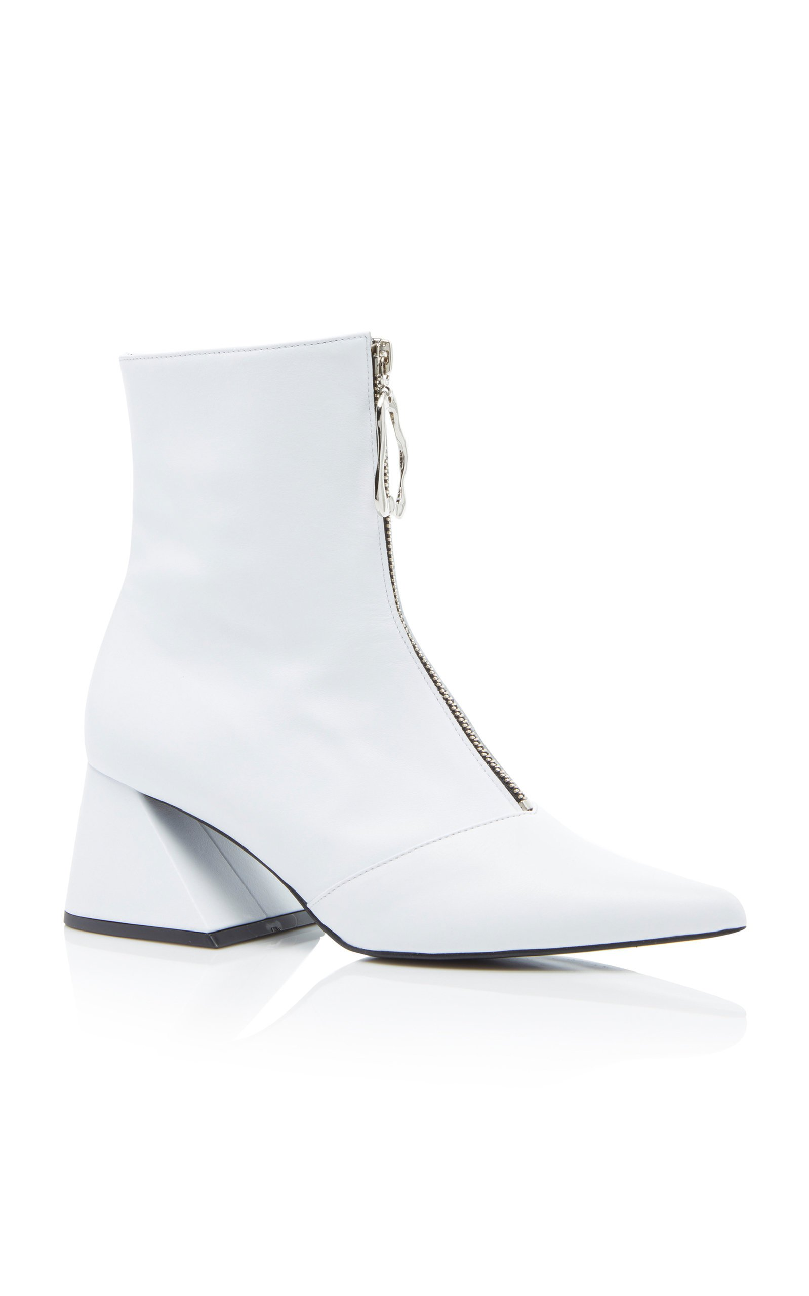 Patent-Leather Ankle Boots by Yuul Yie | Moda Operandi
