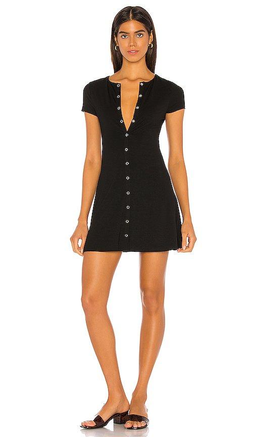 Lovers + Friends Leroy Mini Dress in Black | REVOLVE