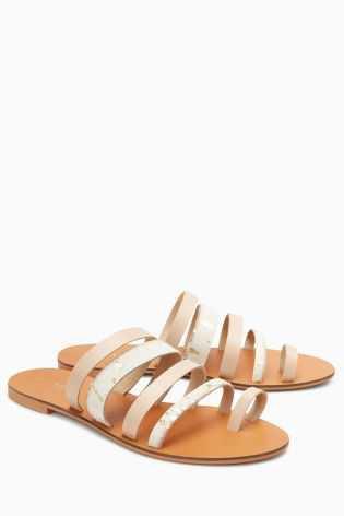 Buy Nude Multi Toe Loop Sandals from the Next UK online shop
