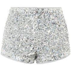 sequin hot shorts