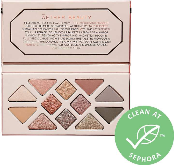 Beauty - Rose Quartz Crystal Gemstone Eyeshadow Palette