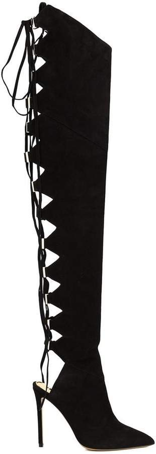 lace up over-the-knee boots