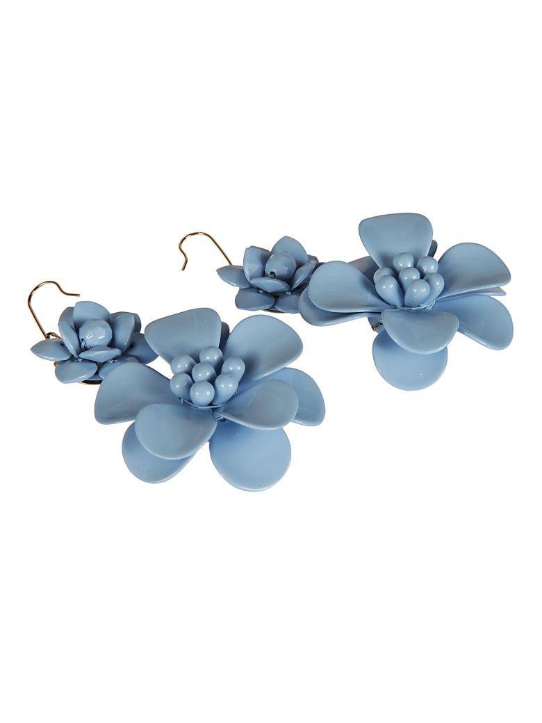 Blugirl Blugirl Floral Earrings - sky blue - 10552617 | italist