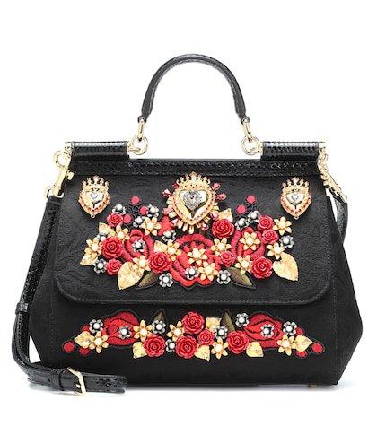 Sicily Medium embellished shoulder bag