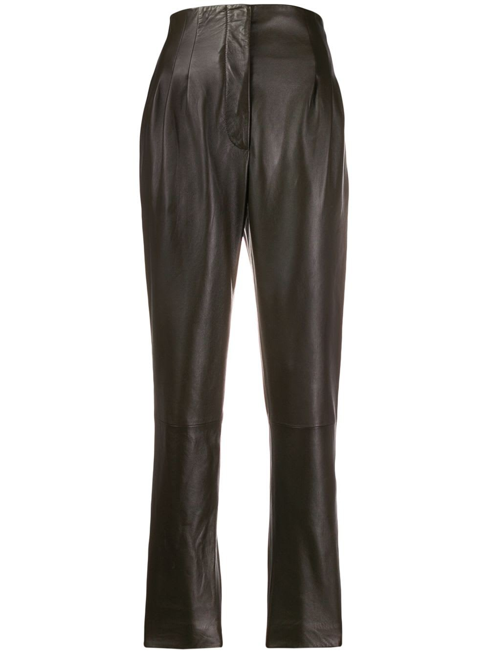 Alberta Ferretti Leather Pant