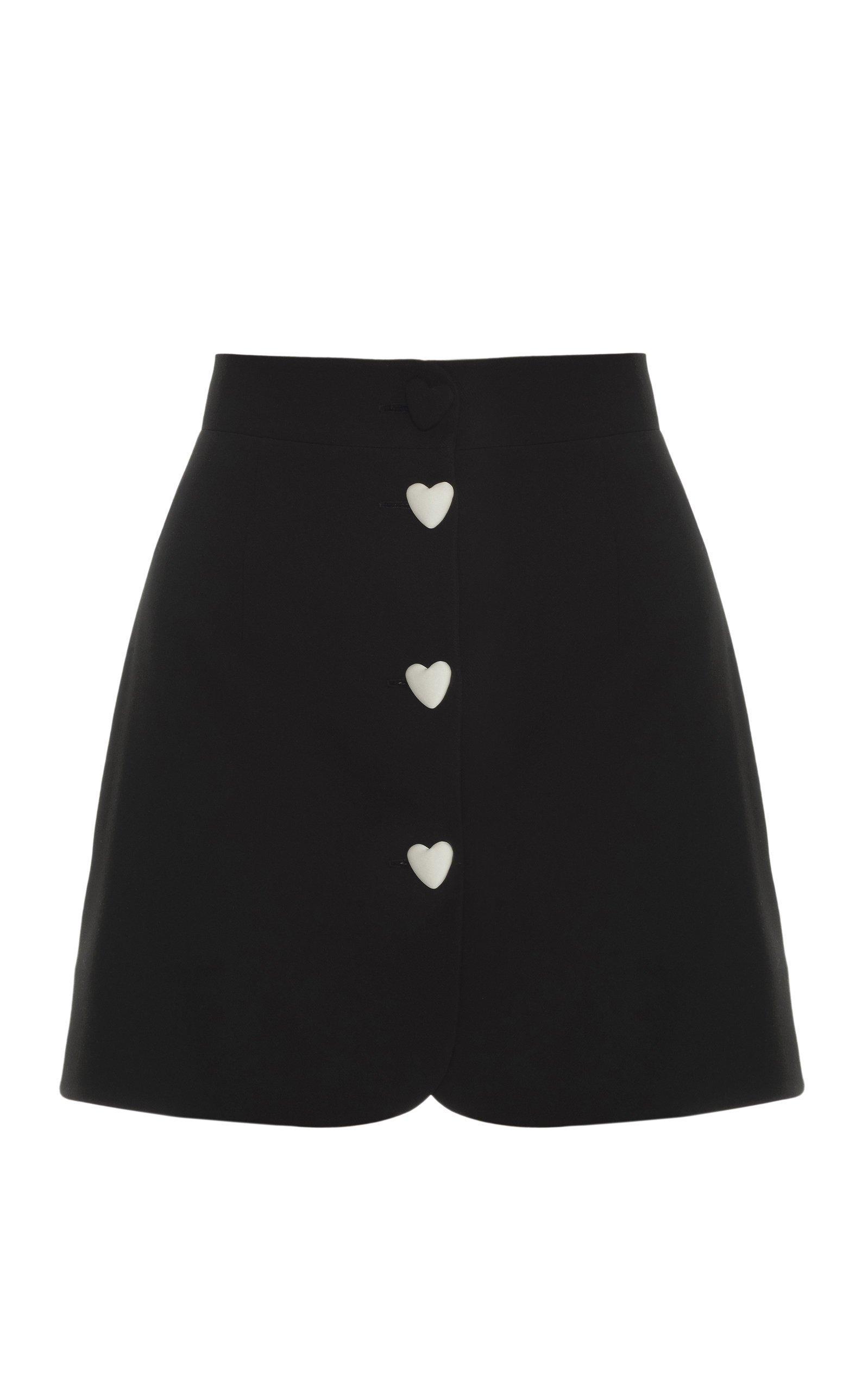 George Keburia High-Rise Mini Skirt