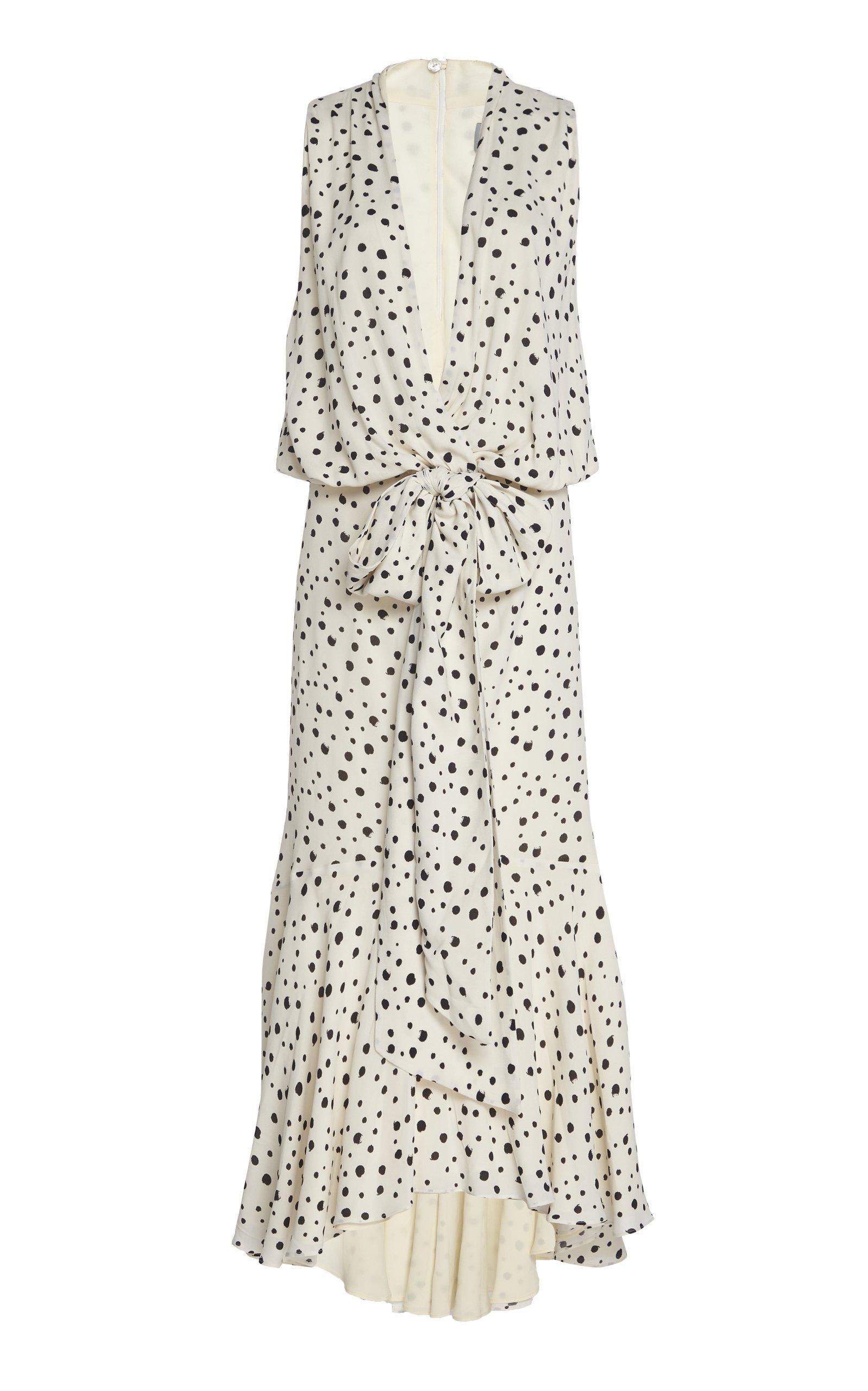 Silvia Tcherassi Nini Crepe De Chine Dress Size: M