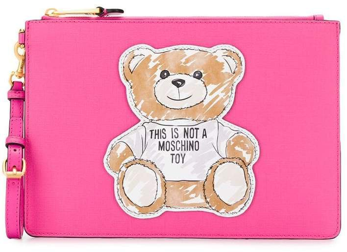 Brushstroke Teddy Bear clutch