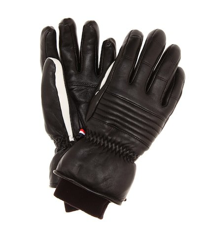 Aksel leather ski gloves