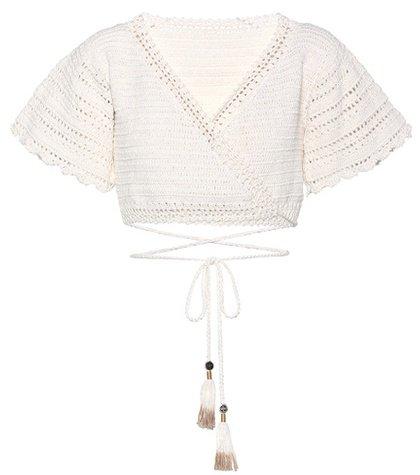 Amira crochet cotton top