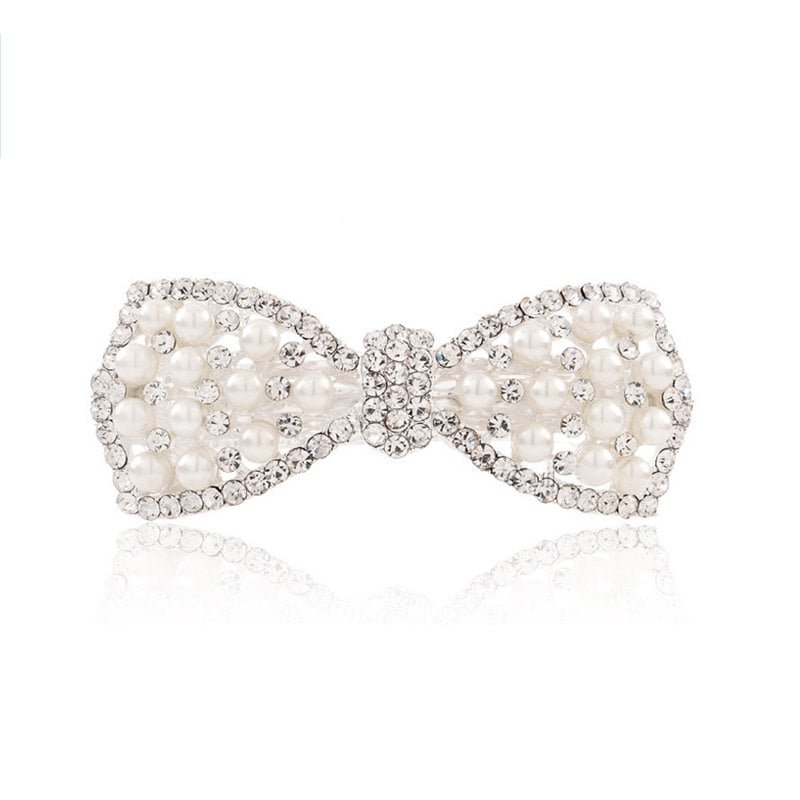 DressLily.com: Photo Gallery - Diamond Fashion Simple Temperament Bow Hair Clip