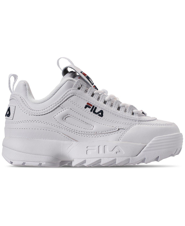 Fila Women's Disruptor II Premium Casual Athletic Sneakers