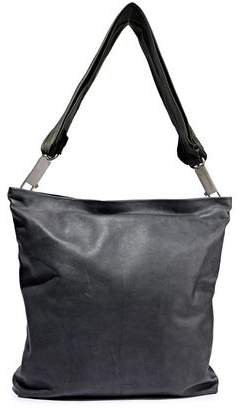 Mega Adri Textured-leather Tote