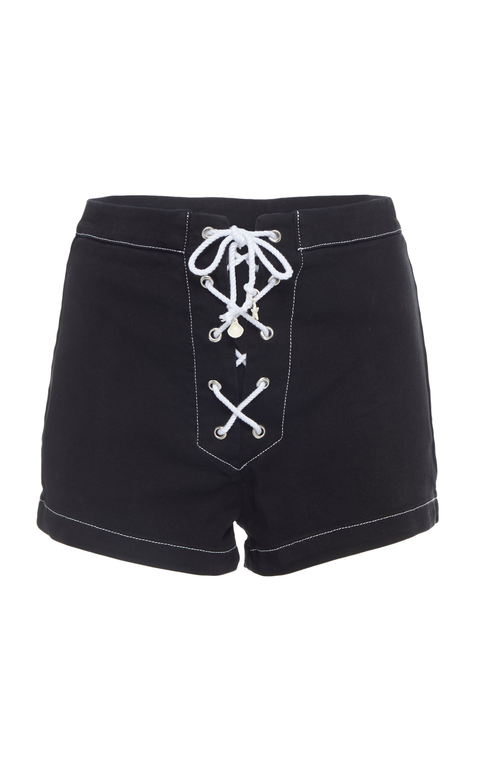 Solid & Striped Dark sailor denim shorts Size: 28