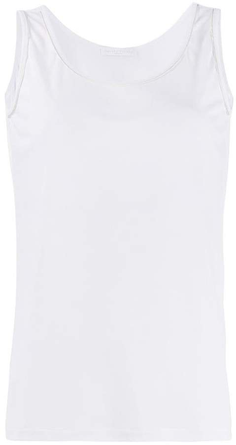 relaxed-fit tank top