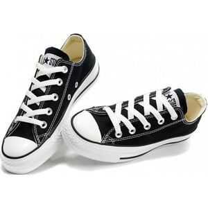 Black And White Low Cut Converse Sneakers