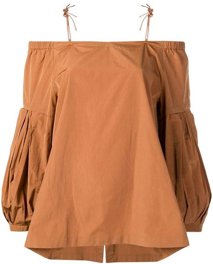 Dorothee off-the-shoulder blouse
