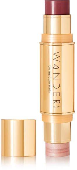 Wander Beauty - On-the-glow Blush And Illuminator - Berry Whisper/ Nude Glow