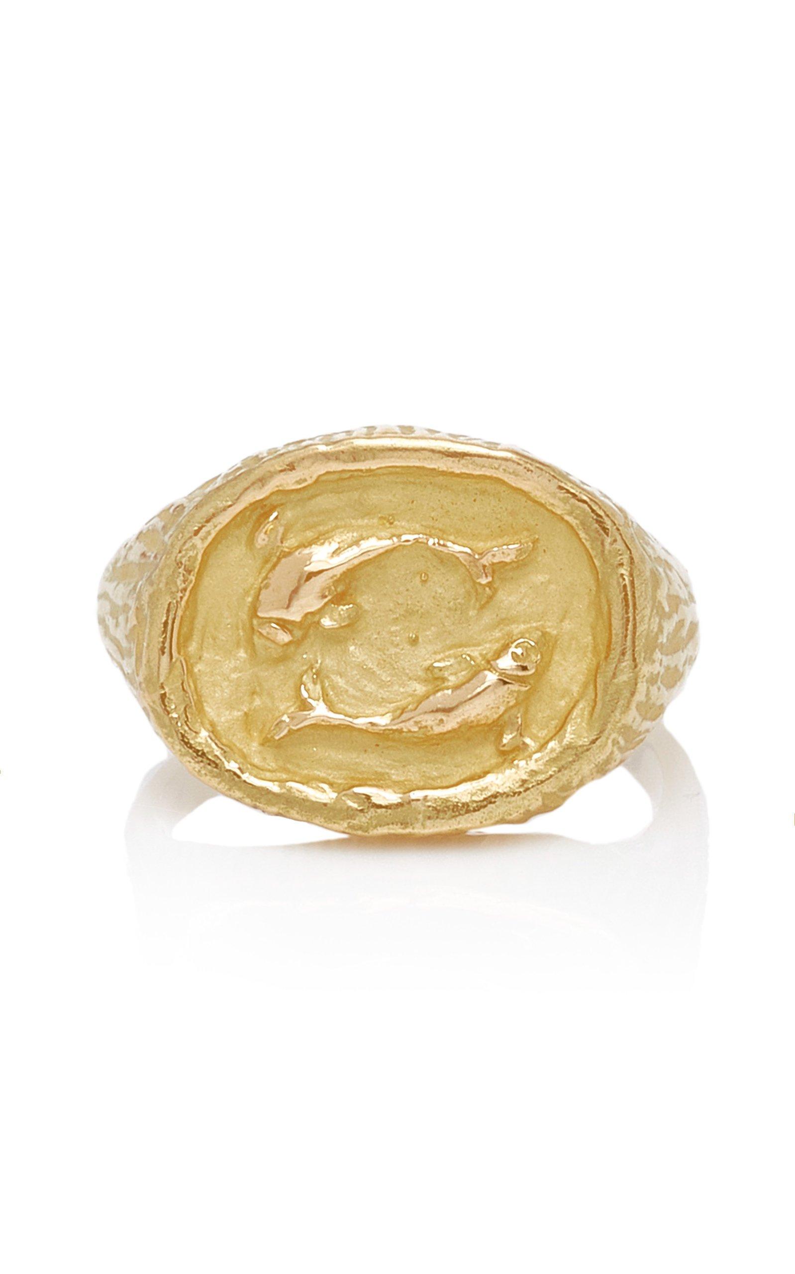 Sidney Garber Zodiac Pisces Ring